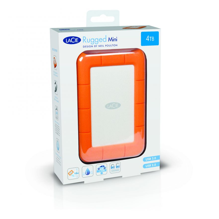 LaCie Rugged Mini USB3.0 4TB