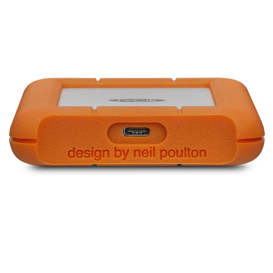 LaCie Rugged USB-C Mobile Drive 2TB