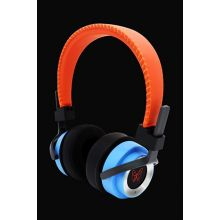PerfectSound HighEnd Kopfhörer orange/blau